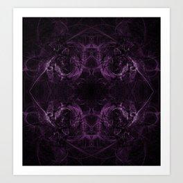 Purple Might Art Print