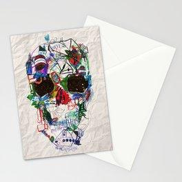 Ruzgars Skull Stationery Cards