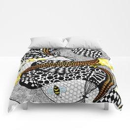 Buzzzz.....  Comforters