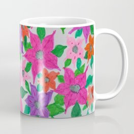 Colorful Spring Floral Garden Coffee Mug