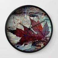 poem Wall Clocks featuring Autumn Poem by A.K.H.