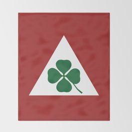Quadrifoglio Classic Throw Blanket