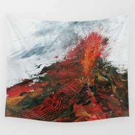Exploding Eruption Wall Tapestry