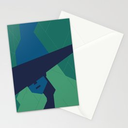 The blue Witch. Stationery Cards