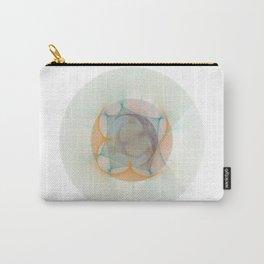 Orbital Mandala #3 Astronomy Print Science Art Carry-All Pouch
