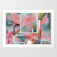 glitch Art Prints featuring Glitch by autumndellaway