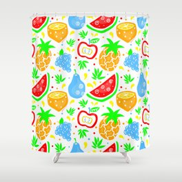 Fiesta de las Frutas Shower Curtain
