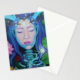 La Nymphe de la Forêt Stationery Cards
