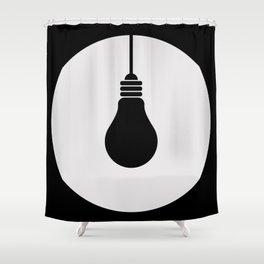 Daylight Dims Logo Shower Curtain