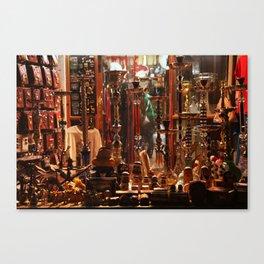 Souq, Qatar Canvas Print