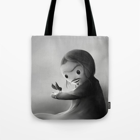 With fangs and love Tote Bag
