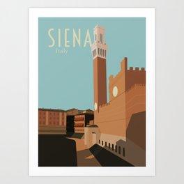 Siena, Italy | Piazza del Campo Art Print