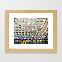 Above the Waldorf Framed Art Print