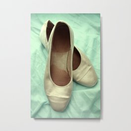 Walking in Whispers Metal Print