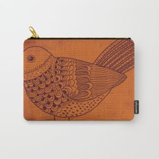Retro Pigeon Carry-All Pouch