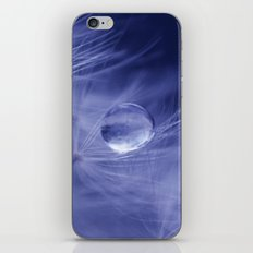 Blue no. 2 iPhone & iPod Skin