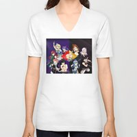 fairy tail V-neck T-shirts featuring Fairy Tail Chapter 440 by Minty Cocoa
