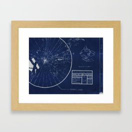 Blueshift B28 Framed Art Print