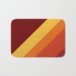 Retro 70s Color Palette II Bath Mat