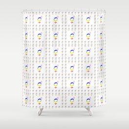 Symbol of Transgender 38 Shower Curtain