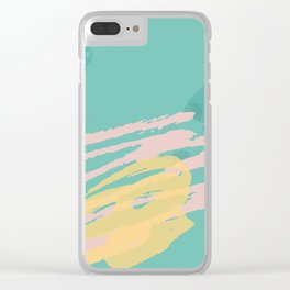 Squiggly Pop Clear iPhone Case