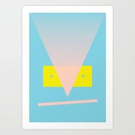 Look at me 1 Art Print