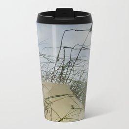 Dune and Beach Grass on Padre Island National Seashore Travel Mug