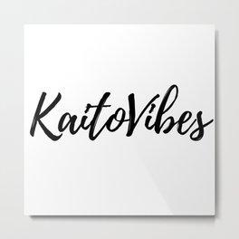 Kaito Vibes Metal Print