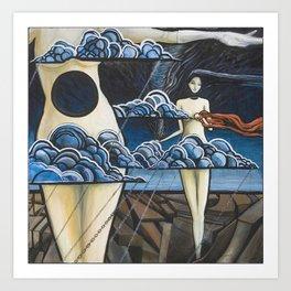 Stalling the Storm Art Print