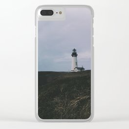 Yaquina Lighthouse Clear iPhone Case