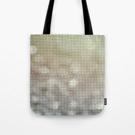 Bokeh Triangle Optical Illusion Tote Bag