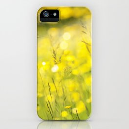 Summer Yellow iPhone Case