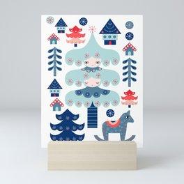 Nordic Winter Mini Art Print