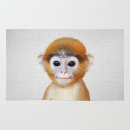 Baby Monkey - Colorful Rug