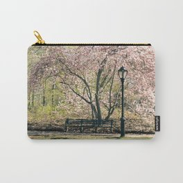 Magnolia's Bloom in Central Park Carry-All Pouch