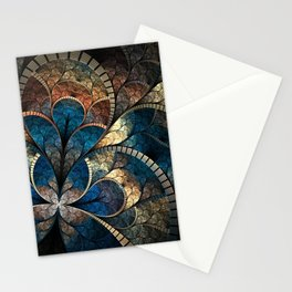 Glass flower Stationery Cards