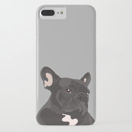 French Bulldog - Grey iPhone Case