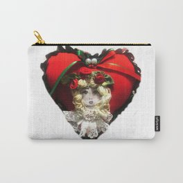 Christmas Heart Carry-All Pouch