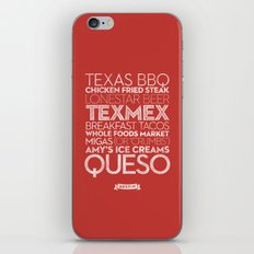 Austin — Delicious City Prints iPhone & iPod Skin