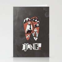 django Stationery Cards featuring Django Unchained by Lechaftois Boris (LBö)