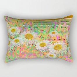 Daisy Cascade Rectangular Pillow