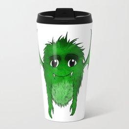 Little Monster Illustration Monster with Wings Green monster SBDesigns Travel Mug