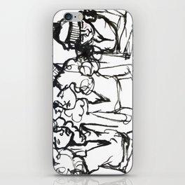 iPhone girl iPhone Skin