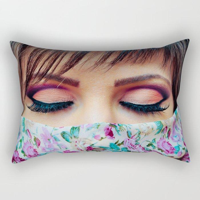 Make Up Rectangular Pillow