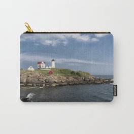 Nubble Lighthouse in Summer Carry-All Pouch