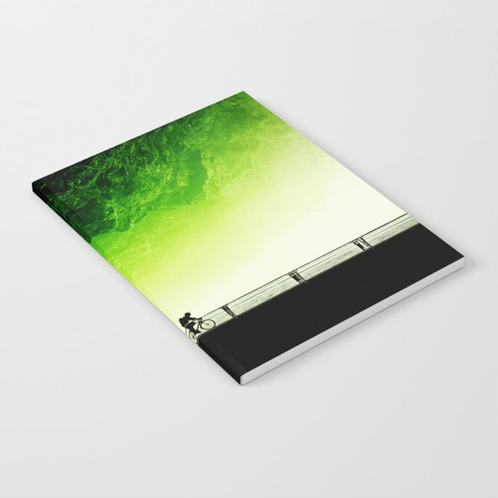 Toxic bicycle Notebook