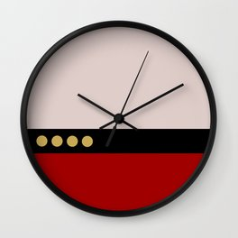 Picard -Minimalist Star Trek TNG The Next Generation  Captain Jean Luc Picard startrek Trektangles Wall Clock