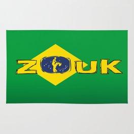 colors of brazil - lets dance brazilian zouk Rug