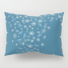 Falling in love with blue Pillow Sham