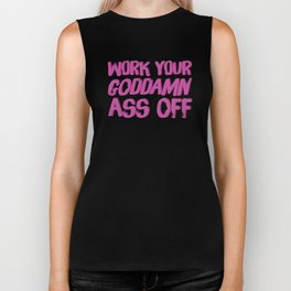Baesic Work It Biker Tank